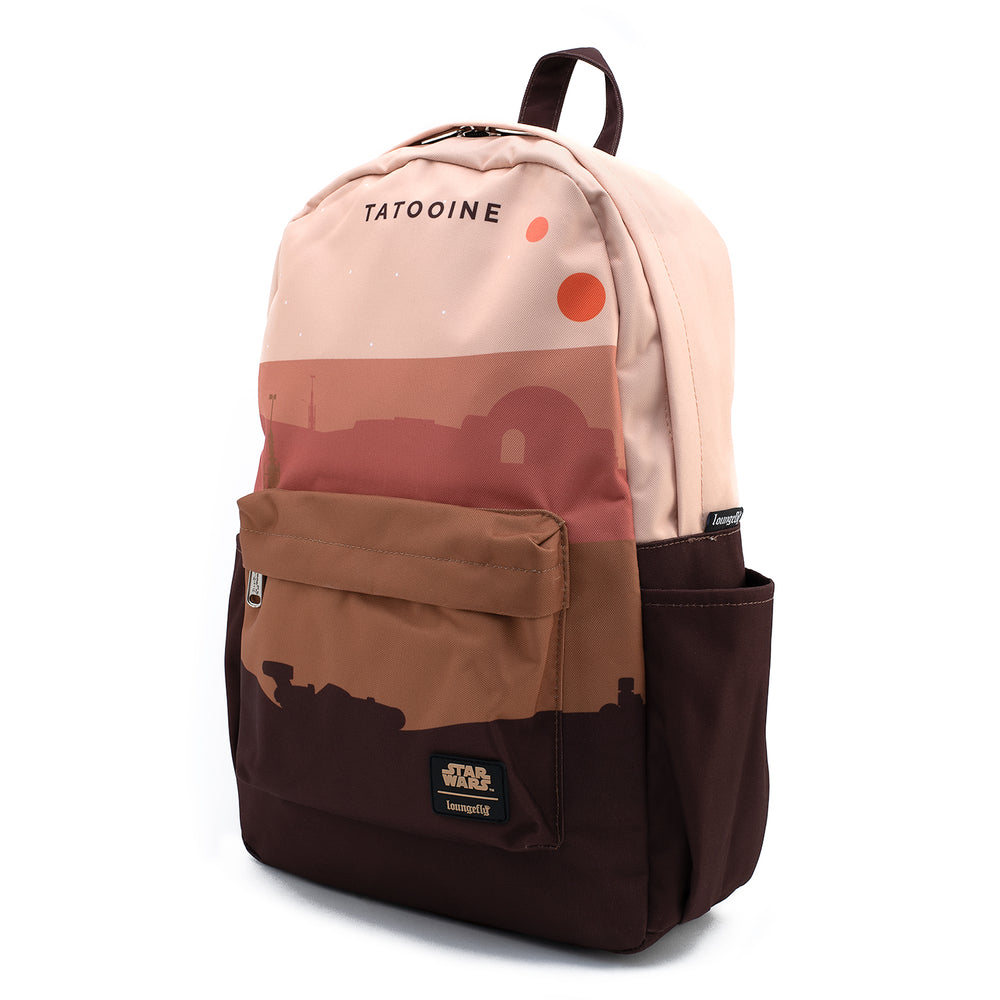 Loungefly X Star Wars Tatooine Nylon Backpack-zoom