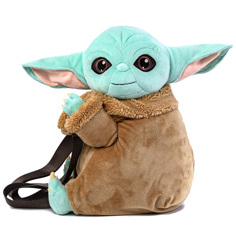 "2020 Fall Virtual Con Star Wars The Mandalorian ""The Child"" Plush Mini Backpack"