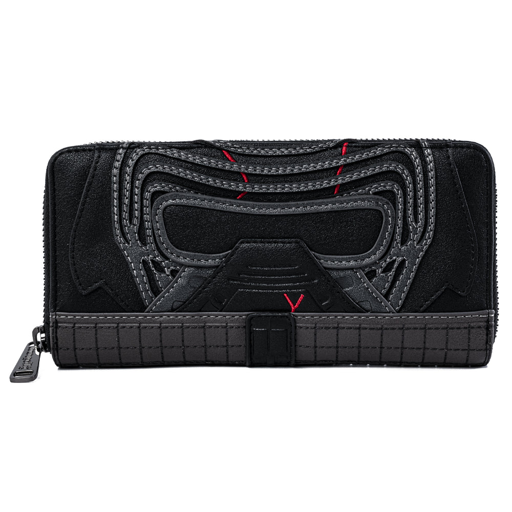 Star Wars Kylo Ren Cosplay Zip Around Wallet-zoom