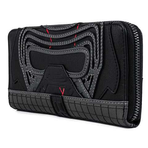 Star Wars Kylo Ren Cosplay Zip Around Wallet