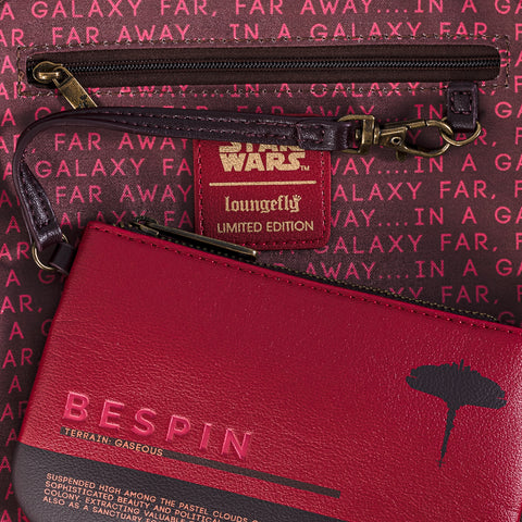 Loungefly X Star Wars Bespin Convertible Mini Backpack set