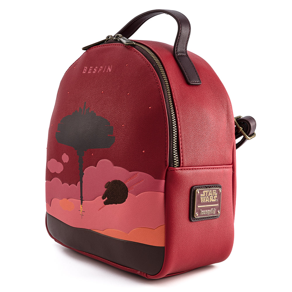Loungefly X Star Wars Bespin Convertible Mini Backpack set-zoom