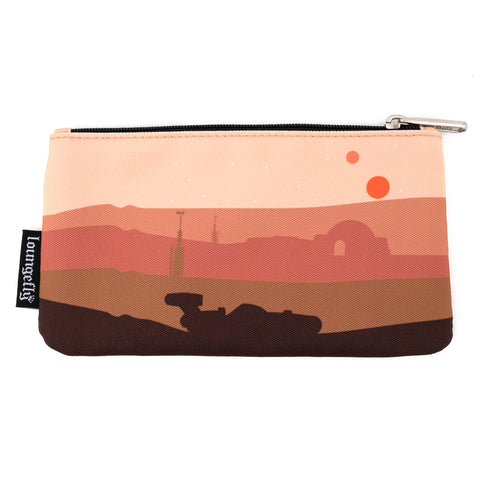 Loungefly X Star Wars Tatooine Nylon Pouch
