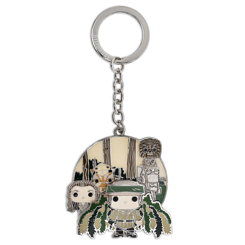 Funko Pop! by Loungefly Star Wars Endor Group Enamel Keychain