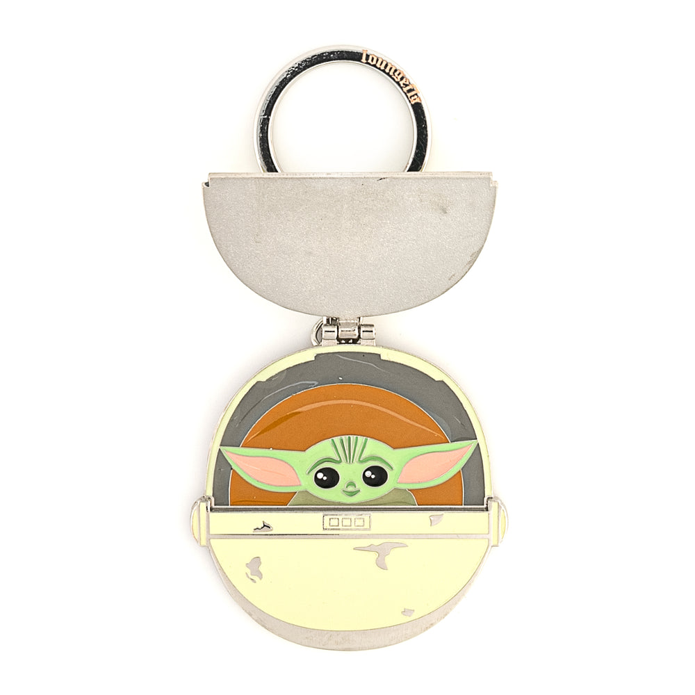 "Star Wars The Mandalorian ""The Child"" Precious Cargo Enamel Keychain-zoom"
