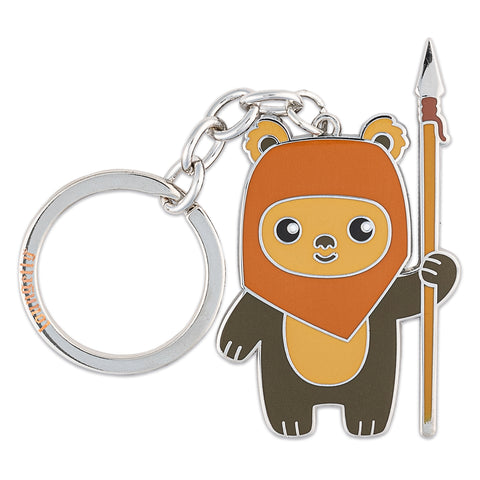 Star Wars Wicket W. Warrick Enamel Keychain