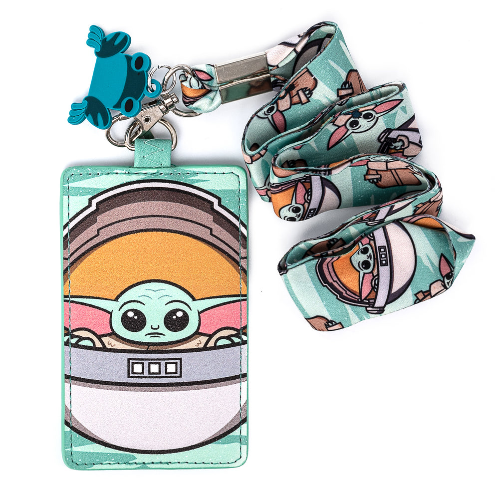 "Star Wars The Mandalorian ""The Child"" Lanyard with Cardholder-zoom"