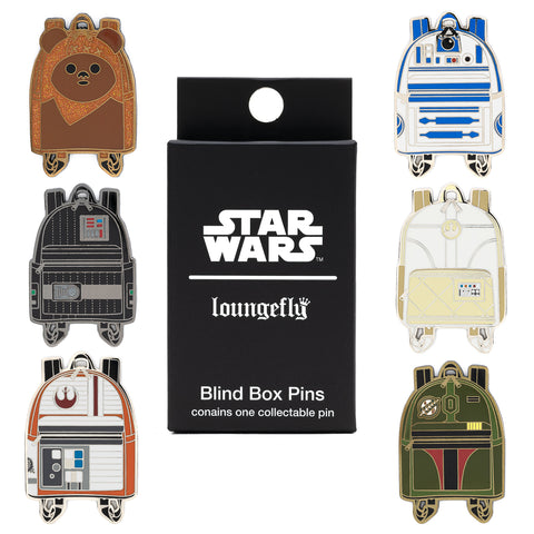 Loungefly X Star Wars Mini Backpack Blind Box Pins