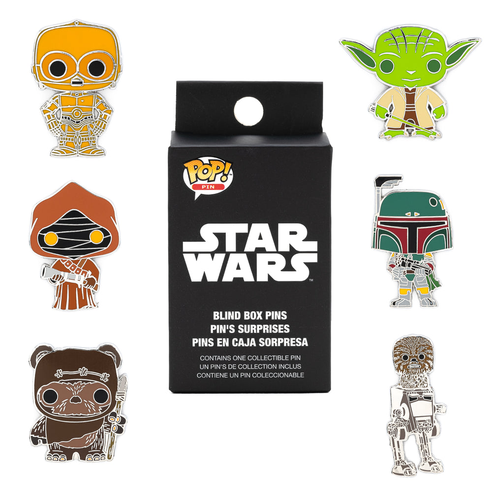Funko Pop! by Loungefly Star Wars Blind Box Enamel Pin-zoom
