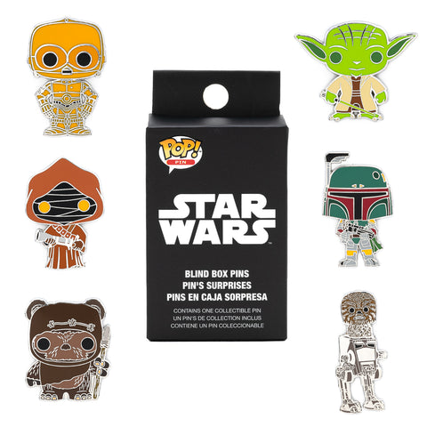 Funko Pop! by Loungefly X Star Wars Pop! Blind Box Pins