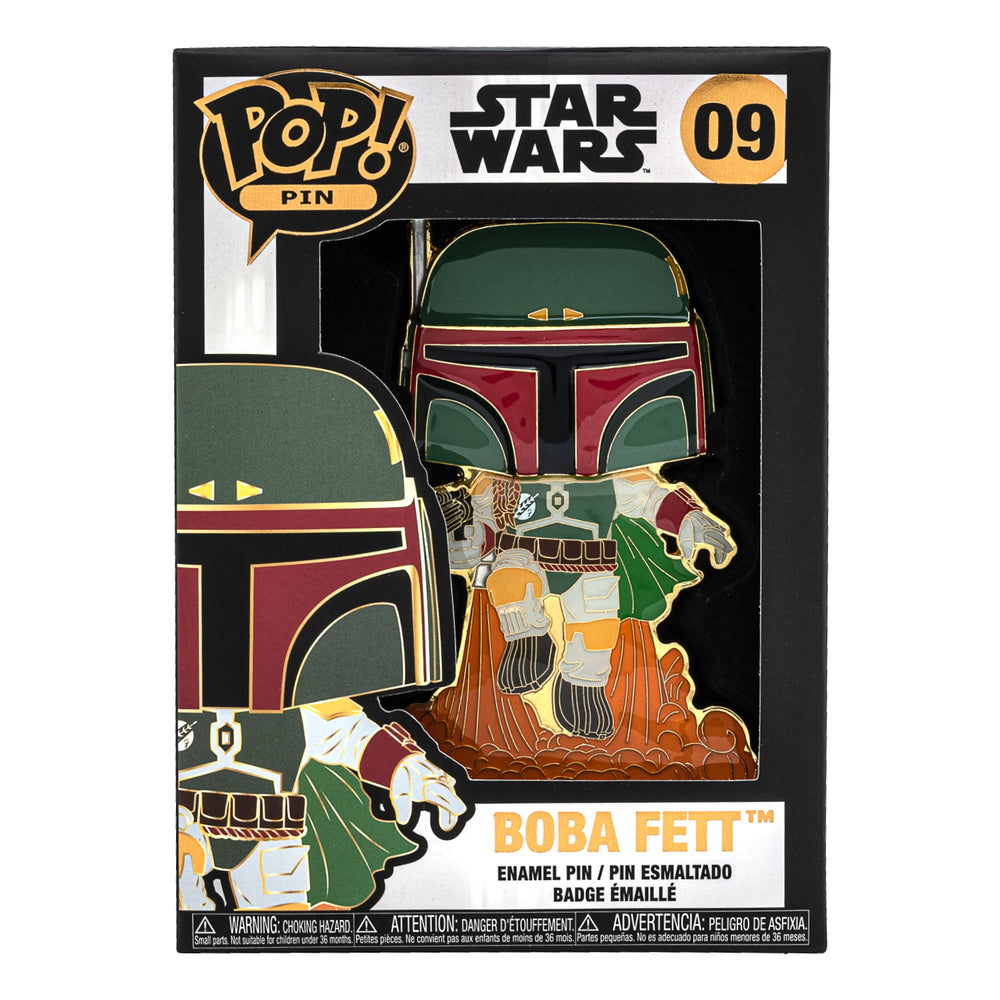 Star Wars Boba Fett Funko Pop! Pin-zoom
