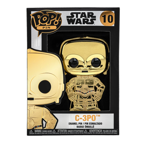 Star Wars C-3PO Funko Pop! Pin