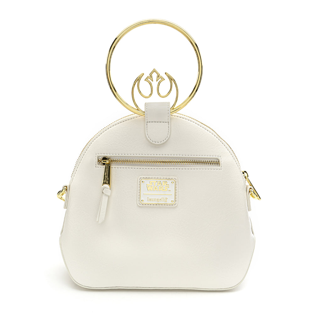 Loungefly X Star Wars White Rebel Handle Crossbody Bag-zoom