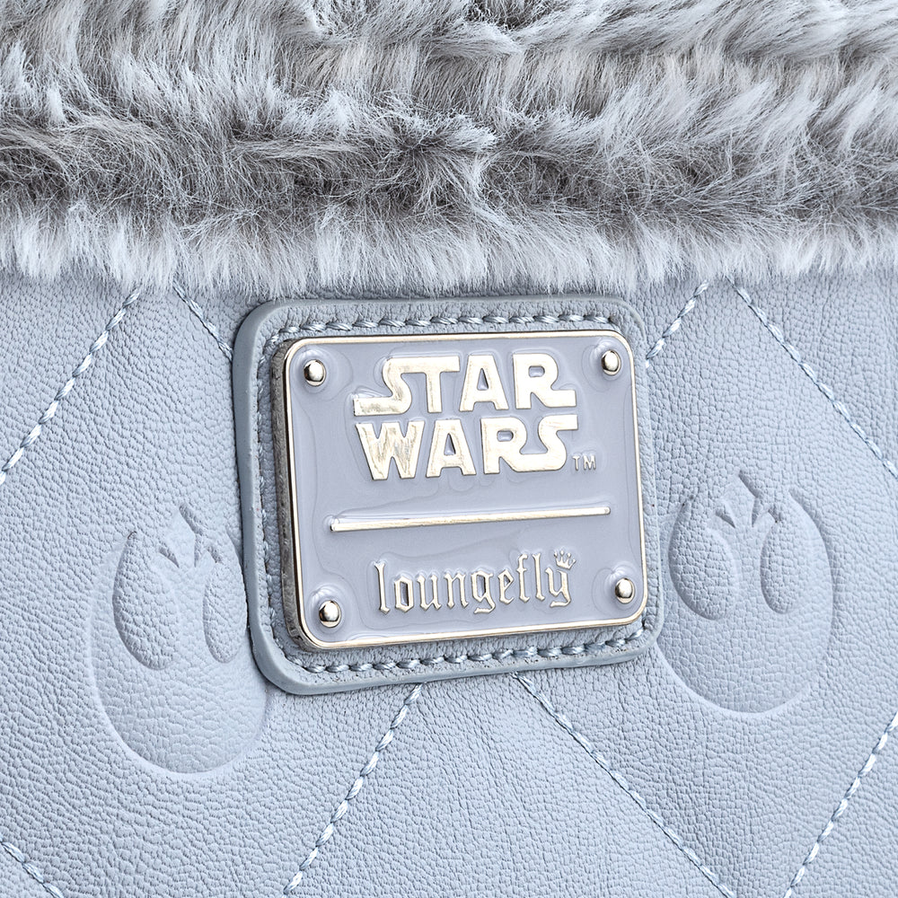 Loungefly X Star Wars Empire Strikes Back 40th Anniversary Hoth Sherpa Cross Body Bag-zoom