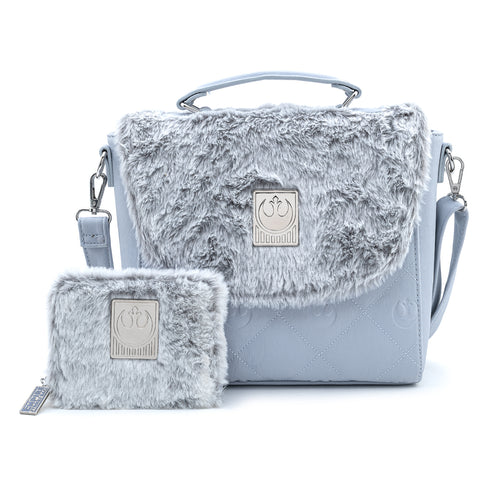 Loungefly X Star Wars Empire Strikes Back 40th Anniversary Hoth Sherpa Cross Body Bag