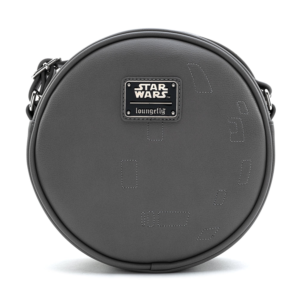 Loungefly X Star Wars Death Star Pin Trader Cross Body Bag-zoom