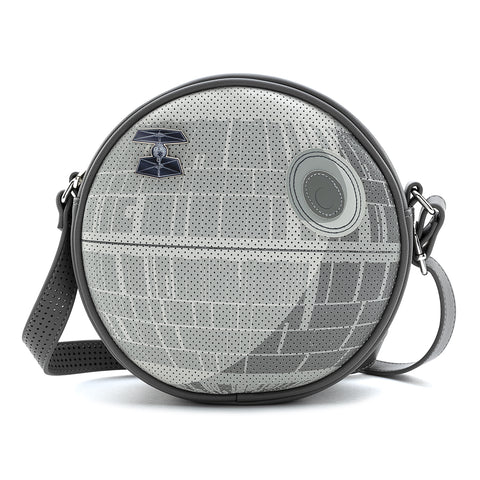 Loungefly X Star Wars Death Star Pin Collector Cross Body Bag