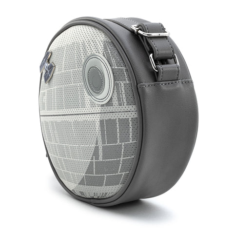 Loungefly X Star Wars Death Star Pin Trader Cross Body Bag