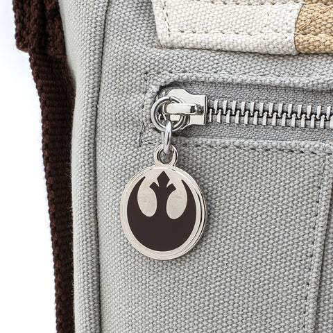 Loungefly X Star Wars Empire Strikes Back 40th Anniversary Luke Skywalker Hoth Canvas MessengerBag