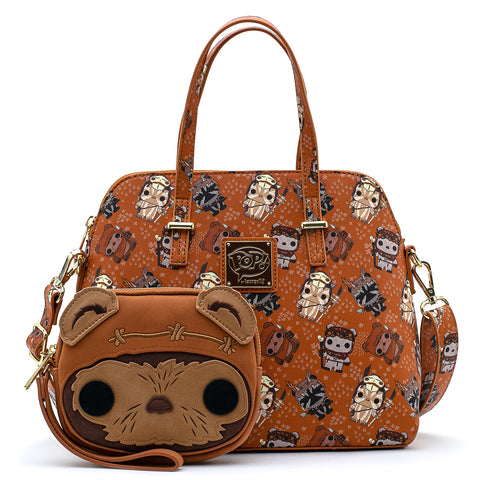 POP By LF X Star Wars Ewok AOP Crossbody Bag