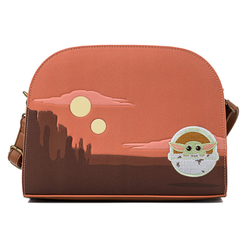 "Star Wars The Mandalorian ""The Child' Cradle Scene Crossbody Bag"