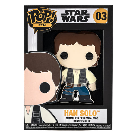 Star Wars Han Solo Funko Pop! Pin