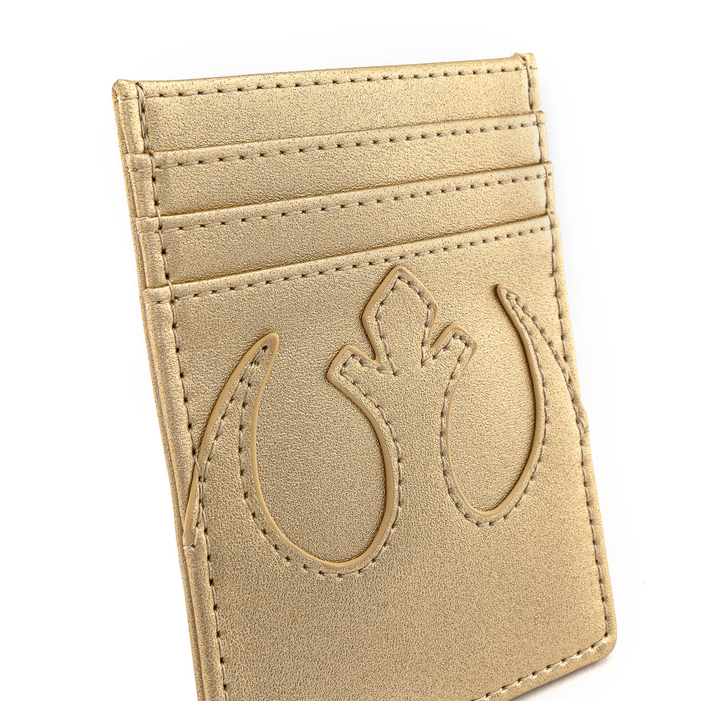 Loungefly X Star Wars Golden Rebel Alliance Cardholder-zoom