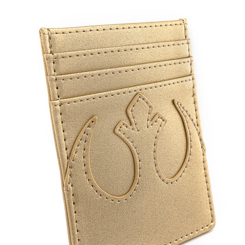 Loungefly X Star Wars Golden Rebel Alliance Cardholder