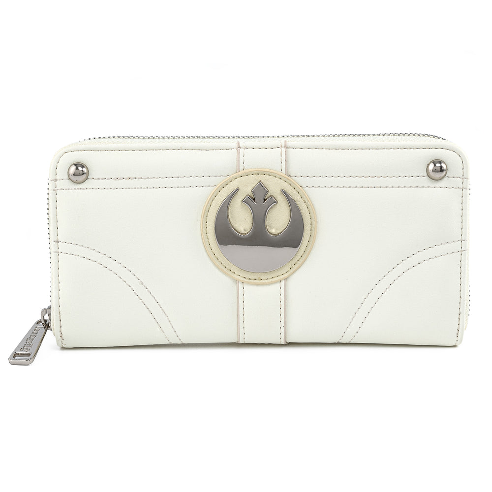 Star Wars Princess Leia Hoth Cosplay Zip Around Wallet-zoom