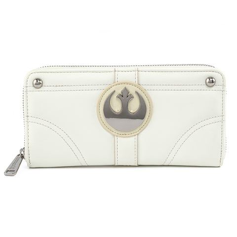 Star Wars Princess Leia Hoth Cosplay Zip Around Wallet