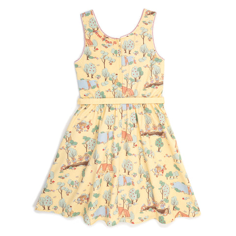 "Disney Stitch Shoppe Snow White Forest Print ""Olivia"" Tank Dress"