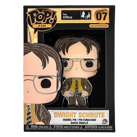 The Office Dwight Schrute Funko Pop! Pin