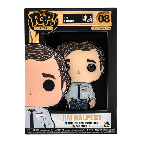 The Office Jim Halpert Funko Pop! Pin