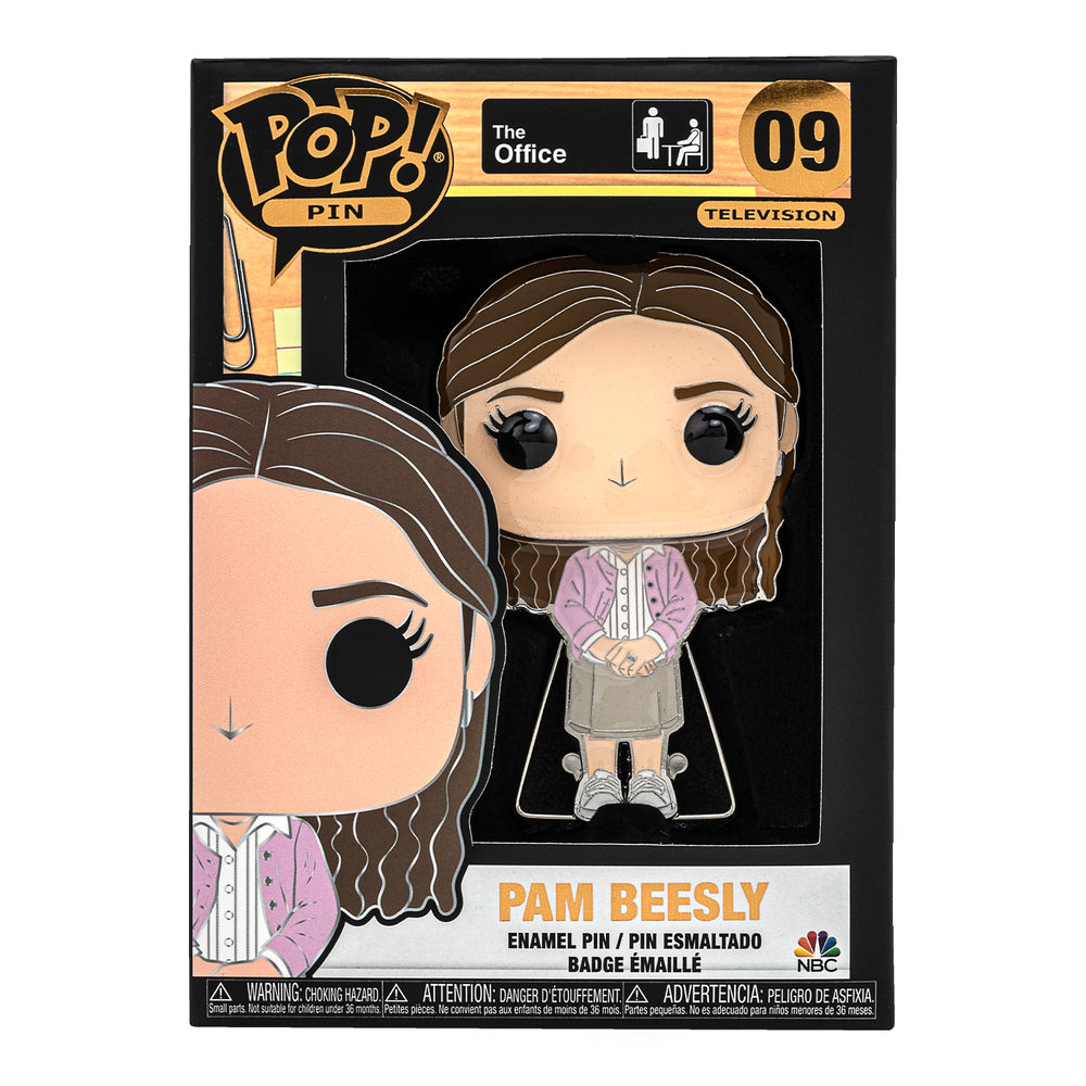 The Office Pam Beesly Funko Pop! Pin-zoom