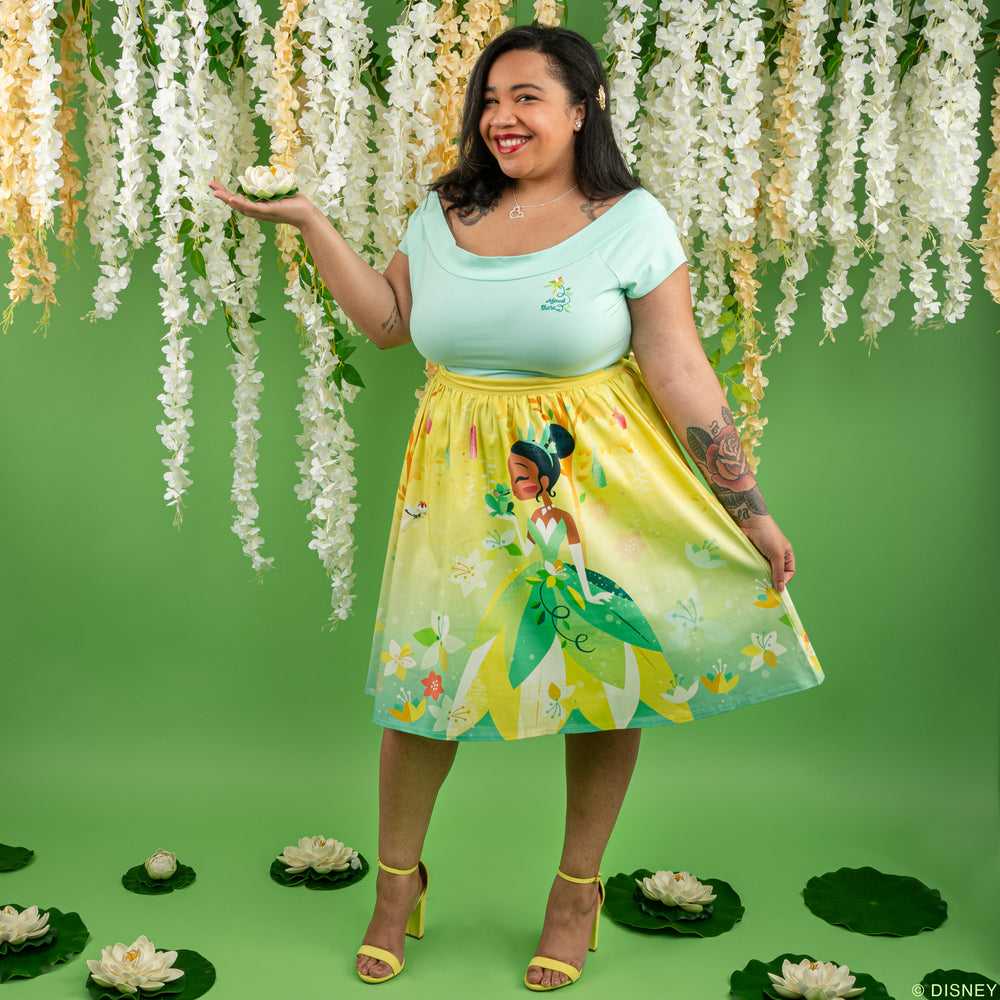"Disney Stitch Shoppe Princess Tiana ""Sandy"" Skirt-zoom"