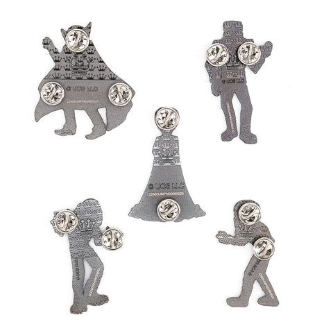 Loungefly X Universal Monsters Summer Convention 5 Piece Pin Set