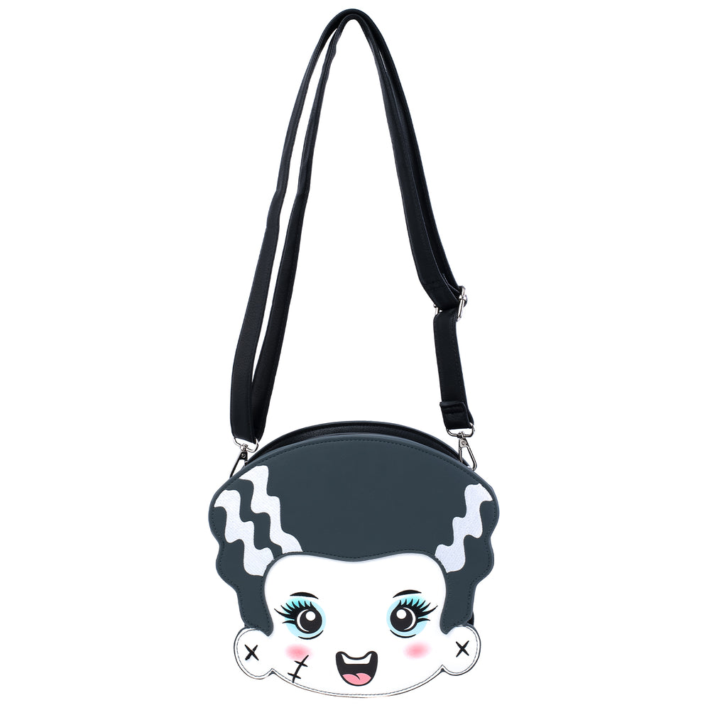 Universal Monsters Frankie and Bride Crossbody Bag-zoom