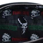 Universal Monsters Frankie and Bride Crossbody Bag