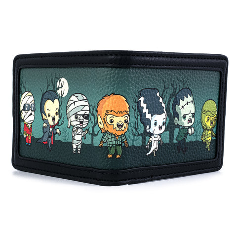 Universal Monsters Chibi Group Bi-Fold Wallet