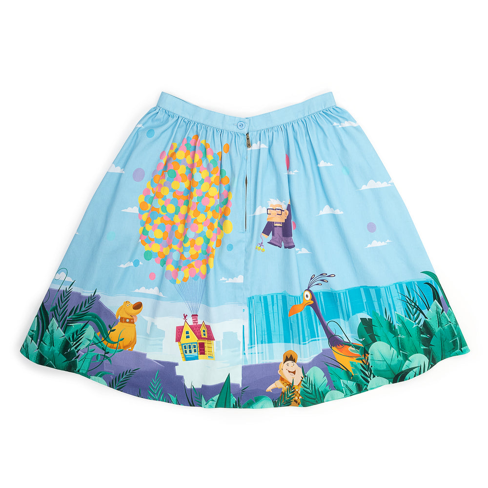 "!Pixar Stitch Shoppe Up Paradise Falls ""Sandy"" Skirt-zoom"