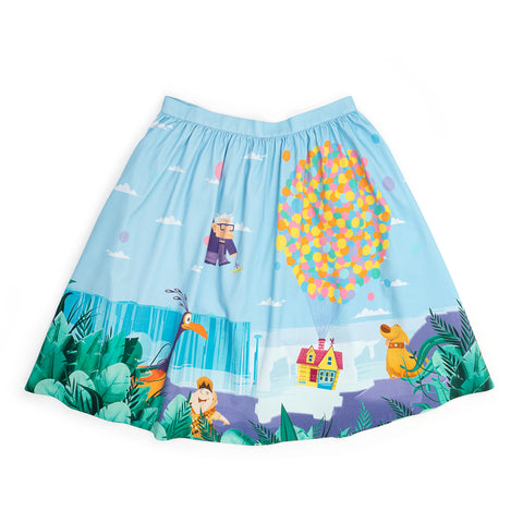 "!Pixar Stitch Shoppe Up Paradise Falls ""Sandy"" Skirt"