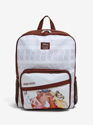 Loungefly X Disney The Lion King Besties Nylon Backpack