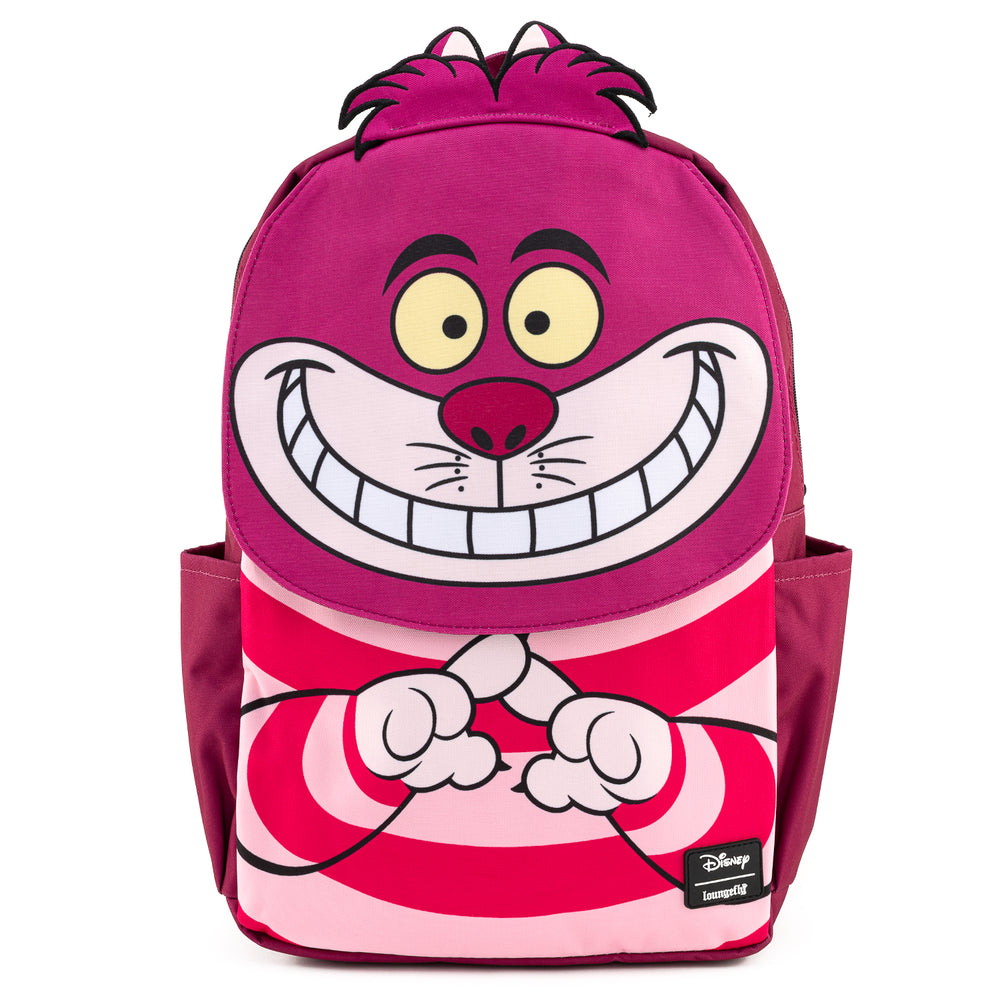 Loungefly X Disney Alice In Wonderland Cheshire Cat Nylon Backpack-zoom