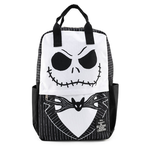 Loungefly X Disney NBC Jack Skellington Cosplay Nylon Backpack