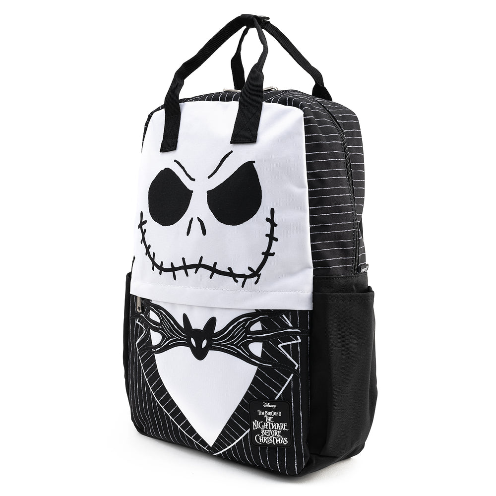 Loungefly X Disney NBC Jack Skellington Cosplay Nylon Backpack-zoom