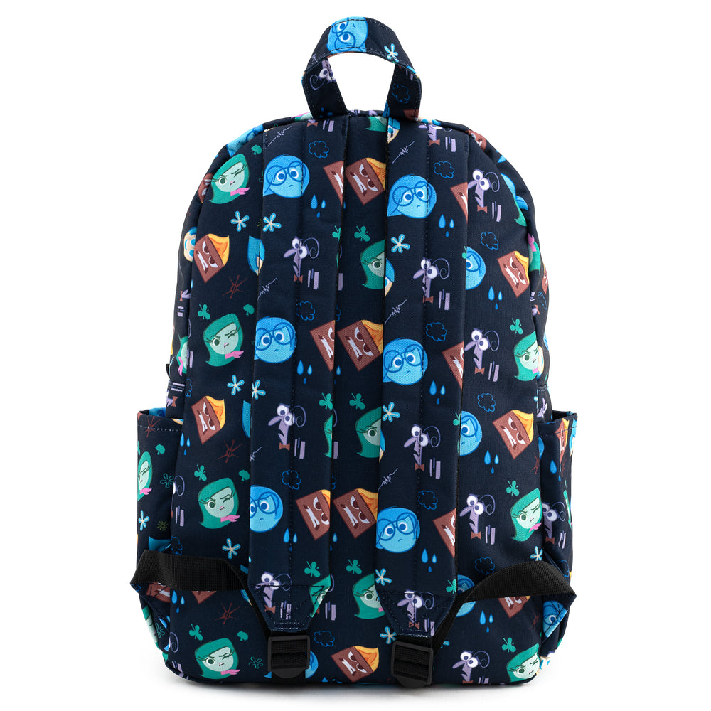 Loungefly X Pixar Inside Out Emotions AOP Nylon Backpack-zoom