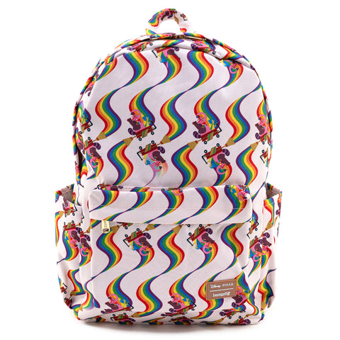 Loungefly X Pixar Inside Out Bing Bong AOP Nylon Backpack