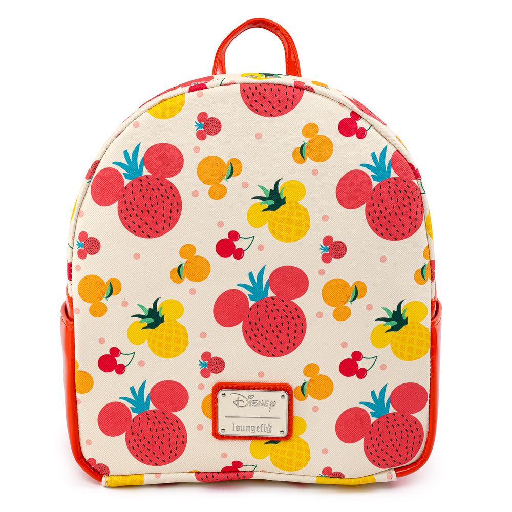 Loungefly X Disney Mickey Mouse Fruits Mini Backpack-zoom