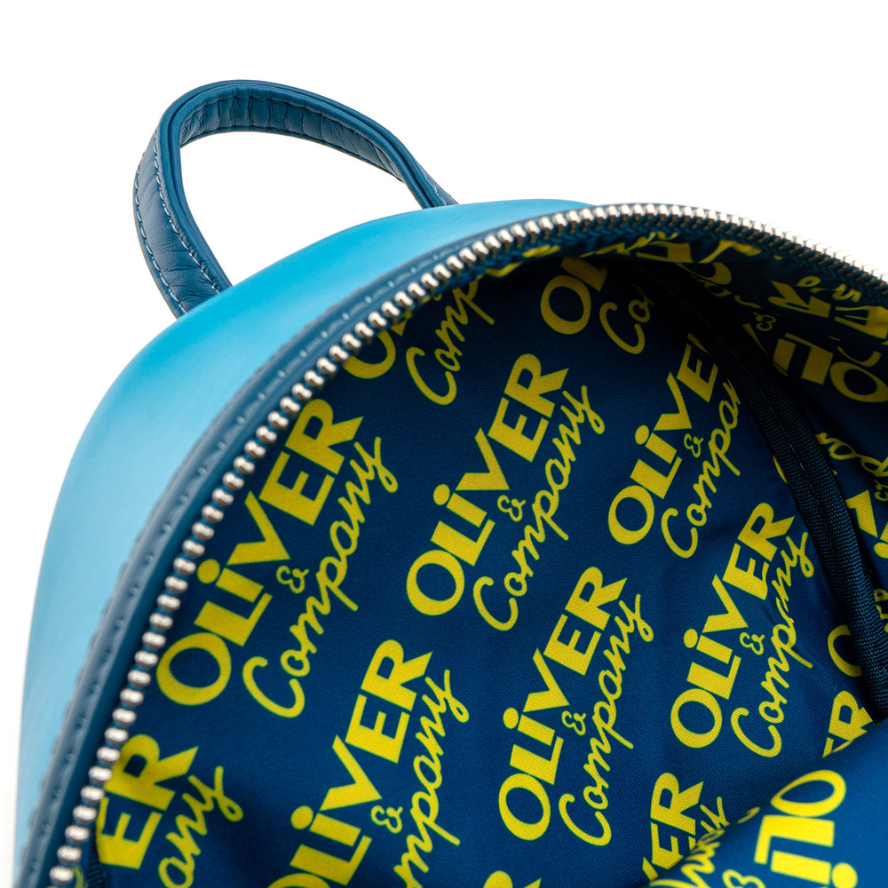 Loungefly X Disney Oliver and Company Taxi Ride Mini Backpack-zoom