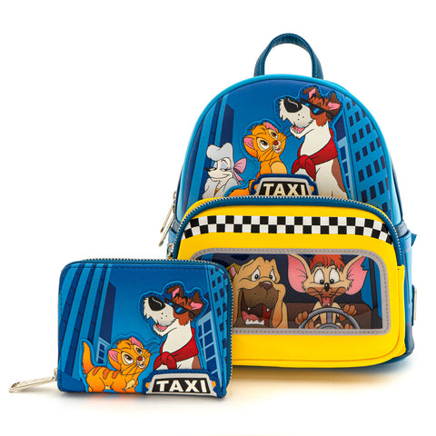 Loungefly X Disney Oliver and Company Taxi Ride Mini Backpack